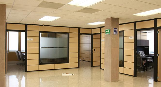 Jafher somos expertos en muebles para oficinas for Fachadas para oficinas